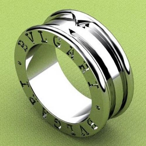 """Кольцо  """"BVLGARI"""" из белого золота"""