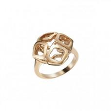 Кольцо из желтого золота..