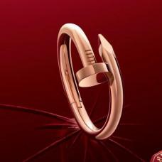 Кольцо из красного золота 'Гвоздь'