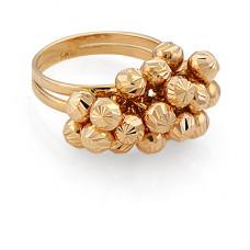 Кольцо из красного золота..