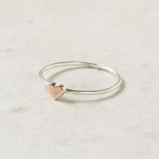 Помолвочное кольцо из комбинированного золота..
